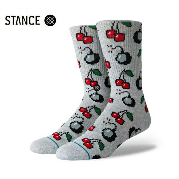【STANCE】CHERRI BOMB カラー:heather grey 【スタンス】【スケートボード】【靴下/ソックス】
