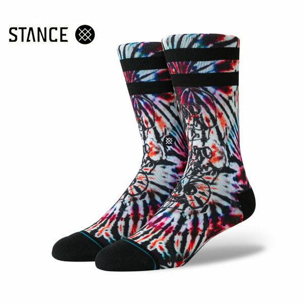 【STANCE】SKULL TOTEM カラー:multi 【スタンス】【スケートボード】【靴下/ソックス】
