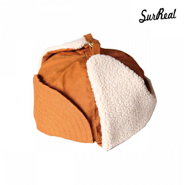 【SURREAL】ARCHY -Oiled Earmuff Cap- カラー:cml 【シュルリアル】【スケートボード】【キャップ/帽子】