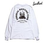 【SURREAL】SAMUEL Print L/S T-Shirt カラー:white シュルリアル ロングスリーブ Tシャツ スケートボード スケボー SKATEBOARD