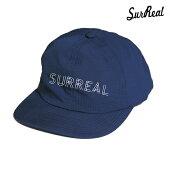 【SURREAL】DAVE COOLMAX ALL MESH CAP カラー:navy シュルリアル 帽子 キャップ スケートボード スケボー SKATEBOARD
