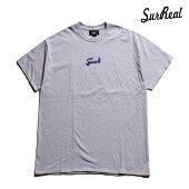 【SURREAL】CLIFF Print T-Shirt カラー:gray シュルリアル Tシャツ 半袖 スケートボード スケボー SKATEBOARD