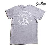 【SURREAL】DEXTER Print T-Shirt カラー:gray シュルリアル Tシャツ 半袖 スケートボード スケボー SKATEBOARD