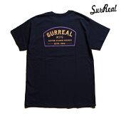 【SURREAL】JESSE Print T-Shirt カラー:navy シュルリアル Tシャツ 半袖 スケートボード スケボー SKATEBOARD