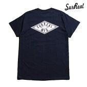 【SURREAL】HADLEY Print T-Shirt カラー:navy シュルリアル Tシャツ 半袖 スケートボード スケボー SKATEBOARD