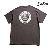 【SURREAL】TOBY Print T-Shirt カラー:gray シュルリアル Tシャツ 半袖 スケートボード スケボー SKATEBOARD