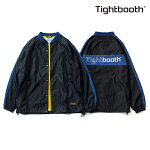 【TBPR/TIGHTBOOTH】SIDE LINE COACH JKT カラー:black 【タイトブースプロダクション】【スケートボード】【ジャケット】