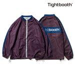 【TBPR/TIGHTBOOTH】SIDE LINE COACH JKT カラー:purple 【タイトブースプロダクション】【スケートボード】【ジャケット】