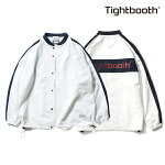 【TBPR/TIGHTBOOTH】SIDE LINE COACH JKT カラー:white 【タイトブースプロダクション】【スケートボード】【ジャケット】