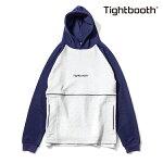 【TBPR/TIGHTBOOTH】PIPING HOODY カラー:purple 【タイトブースプロダクション】【スケートボード】【フード/プルオーバー】