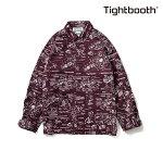 【TBPR/TIGHTBOOTH】ANALYZE SHIRT カラー:wine 【タイトブースプロダクション】【スケートボード】【シャツ/トップス】
