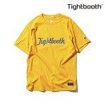 【TBPR/TIGHTBOOTH PRODUCTION】CENTURY CHAMPION カラー:gold 【タイトブースプロダクション】【スケートボード】【Tシャツ/半袖】