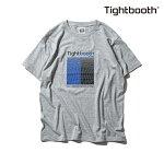 【TBPR/TIGHTBOOTH PRODUCTION】GRID カラー:grey 【タイトブースプロダクション】【スケートボード】【Tシャツ/半袖】