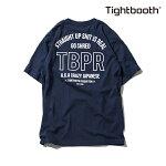 【TBPR/TIGHTBOOTH PRODUCTION】 STRAIGHT UP カラー:navy 【タイトブースプロダクション】【スケートボード】【Tシャツ/半袖】