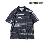 【TBPR/TIGHTBOOTH PRODUCTION】NOISE SHIRT カラー:black 【タイトブースプロダクション】【スケートボード】【シャツ/半袖】