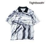 【TBPR/TIGHTBOOTH PRODUCTION】NOISE SHIRT カラー:white 【タイトブースプロダクション】【スケートボード】【シャツ/半袖】