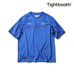 【TBPR/TIGHTBOOTH PRODUCTION】PIPING JERJEY カラー:blue 【タイトブースプロダクション】【スケートボード】【Tシャツ/半袖】