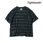 【TBPR/TIGHTBOOTH PRODUCTION】LINERS V-neck カラー:black 【タイトブースプロダクション】【スケートボード】【Tシャツ/半袖】