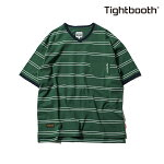 【TBPR/TIGHTBOOTH PRODUCTION】LINERS V-neck カラー:green 【タイトブースプロダクション】【スケートボード】【Tシャツ/半袖】