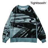 【TBPR/TIGHTBOOTH PRODUCTION】NOISE CREW NECK カラー:light blue 【タイトブースプロダクション】【スケートボード】【スウェット/クルーネック】