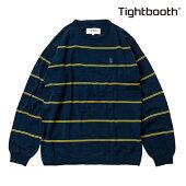 【TBPR/TIGHTBOOTH PRODUCTION】COTTON LINERS カラー:navy 【タイトブースプロダクション】【スケートボード】【スウェット/クルーネック】