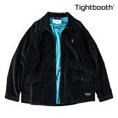 【TBPR/TIGHTBOOTH PRODUCTION】CODE SWING TOP カラー:black 【タイトブースプロダクション】【スケートボード】【ジャケット】