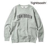 【TBPR/TIGHTBOOTH PRODUCTION】 COLLEGE CREW NECK カラー:grey 【タイトブースプロダクション】【スケートボード】【スウェット/クルーネック】
