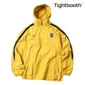 【TBPR/TIGHTBOOTH PRODUCTION】FOOTBALL TRACK JKT カラー:yellow 【タイトブースプロダクション】【スケートボード】【ジャケット】