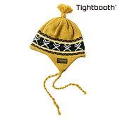 【TBPR/TIGHTBOOTH PRODUCTION】 EAR FLAP KNIT CAP カラー:mustard 【タイトブースプロダクション】【スケートボード】【ビーニー/ニット帽】