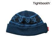 【TBPR/TIGHTBOOTH PRODUCTION】 VX KNIT CAP カラー:navy 【タイトブースプロダクション】【スケートボード】【ビーニー/ニット帽】
