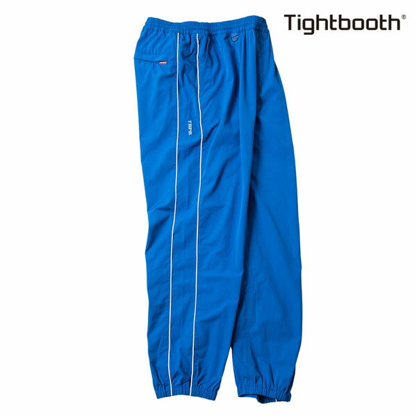【TBPR/TIGHTBOOTH PRODUCTION】PIPING TRACK PANTS カラー:blue 【タイトブースプロダクション】【スケートボード】【パンツ】