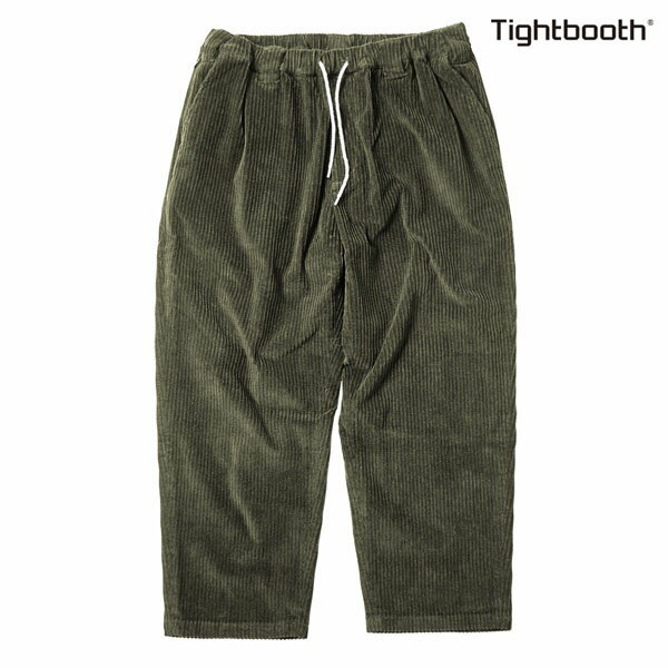 【TBPR/TIGHTBOOTH PRODUCTION】BAGGY CODE PANTSカラー:olive 【タイトブースプロダクション】【スケートボード】【パンツ】