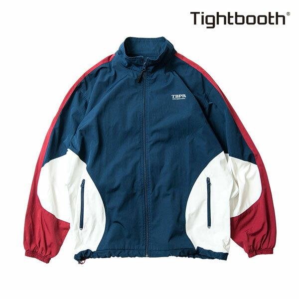 【TBPR/TIGHTBOOTH PRODUCTION】 HOOLIGAN JKTカラー:navy/wine 【タイトブースプロダクション】【スケートボード】【ジャケット】