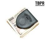 【TBPR/TIGHTBOOTH PRODUCTION】LEATHER MONEY CLIP カラー:black タイトブース サイフ マネークリップ スケートボード スケボー SKATEBOARD
