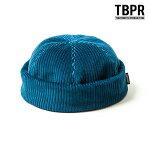 【TBPR/TIGHTBOOTH PRODUCTION】CORD ROLL CAP カラー:blue タイトブース 帽子 ハット スケートボード スケボー SKATEBOARD