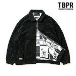 【TBPR/TIGHTBOOTH PRODUCTION】FORTRESS CORD JKT カラー:black タイトブース ジャケット リバーシブル スケートボード スケボー SKATEBOARD