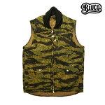 【BLUCO】RIB WORK VEST カラー:tiger camo OL-044-016 【ブルコ】【スケートボード】【ジャケット】