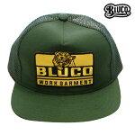 【BLUCO】ORIGINAL MESH CAP -Tiger- カラー:green OL-202-017 【ブルコ】【スケートボード】【キャップ/帽子】