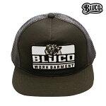 【BLUCO】ORIGINAL MESH CAP -Tiger- カラー:grey OL-202-017 【ブルコ】【スケートボード】【キャップ/帽子】