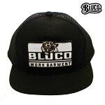 【BLUCO】ORIGINAL MESH CAP -Tiger- カラー:black OL-202-017 【ブルコ】【スケートボード】【キャップ/帽子】