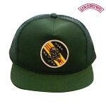 【UNCROWD】ORIGINAL MESH CAP -UCCT- カラー:green UC-210-017 【アンクラウド】【スケートボード】【キャップ/帽子】