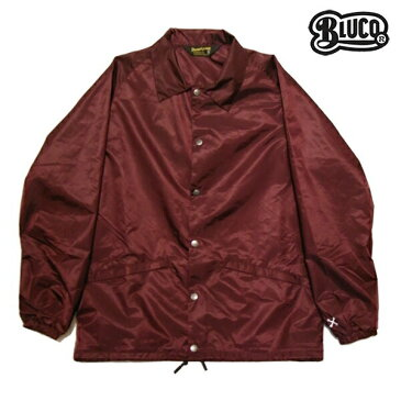 【BLUCO WORK GARMET】COACH JACKET OL-041-017カラー:burgundy 【ブルコ】【スケートボード】【ジャケット】