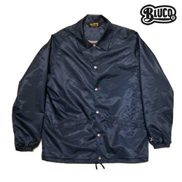【BLUCO WORK GARMET】COACH JACKET OL-041-017カラー:navy 【ブルコ】【スケートボード】【ジャケット】