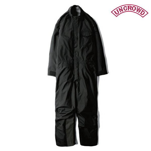 【UNCROWD】ALL WEATHER SUITUC-400-018カラー:black【アンクラウド/ブルコ】【スケートボード】【レインスーツ】