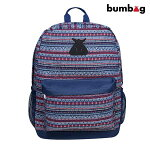 【BUMBAG×T-FUNK】SCOUT BACKPACK カラー:navy バムバッグ バックパック バッグ BAG スケートボード スケボー SKATEBOARD
