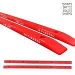 【DOOM SAYERS】SLIDER RAIL カラー:red 【スケートボード】【ドゥームセイヤーズ】 【レールバー】