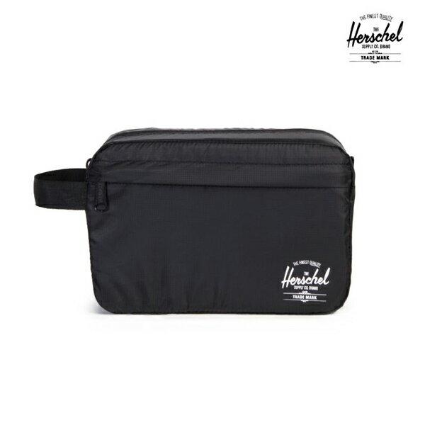 【HERSCHEL】TOILETRY BAG カラー:black 【ハーシェル】【スケートボード】【バッグ】