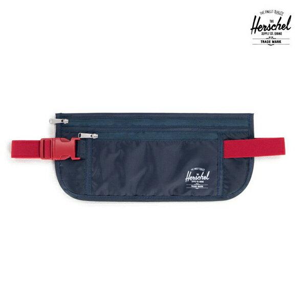 【HERSCHEL】MONEY BELT カラー:navy/red 【ハーシェル】【スケートボード】【バッグ】