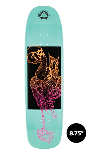 【WELCOME skateboards】RUBBERNECK teal dip SON OF GOLEM【ウェルカム】【スケートボード】【デッキ】【8.75インチ】選べる無料のデッキテープ付き!