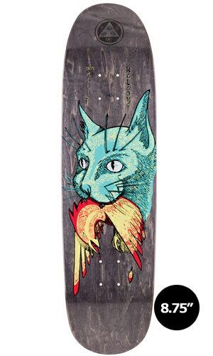 【WELCOME skateboards】Chris Miller CAT GETS BIRD stains CATBLOOD 2.0 【ウェルカム】【スケートボード】【デッキ】【8.75インチ】選べる無料のデッキテープ付き!